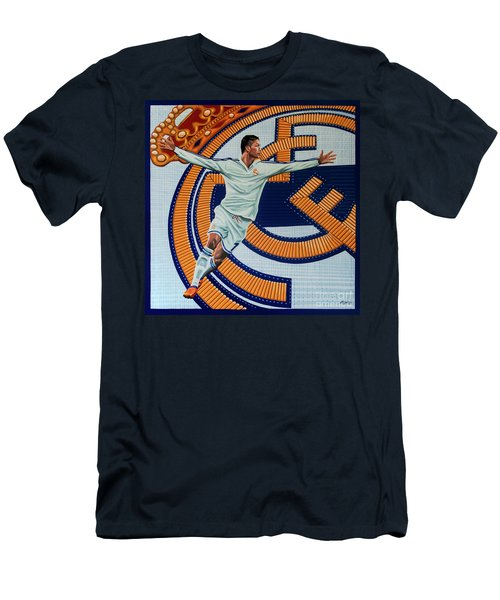 Real Madrid Painting Men's T-Shirt (Athletic Fit)
