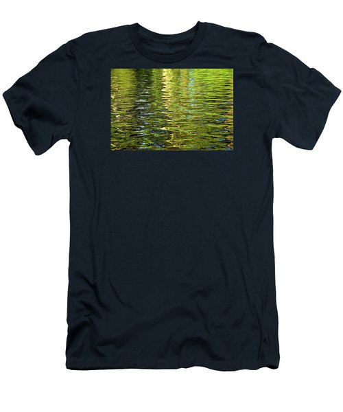 Men's T-Shirt (Athletic Fit) featuring the photograph Reams Of Light by Lynda Lehmann