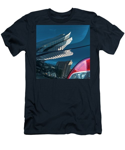 Rear Reflections Men's T-Shirt (Athletic Fit)