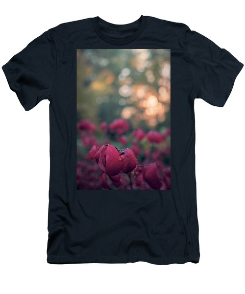 Men's T-Shirt (Athletic Fit) featuring the photograph Burning Red II by Gene Garnace