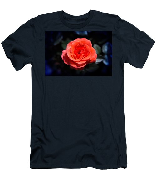 Red Rose Art Men's T-Shirt (Athletic Fit)
