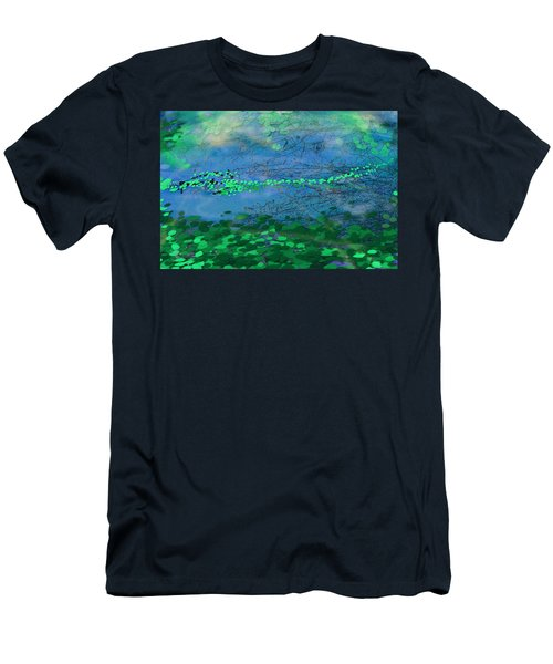 Reflecting Pond Men's T-Shirt (Athletic Fit)