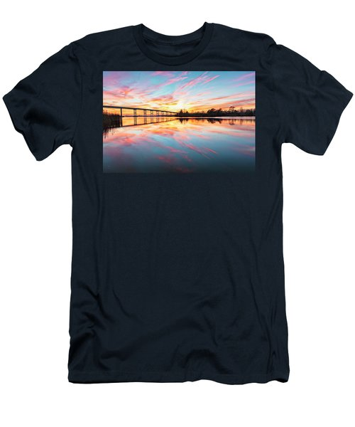 Men's T-Shirt (Athletic Fit) featuring the photograph Reflection by Russell Pugh