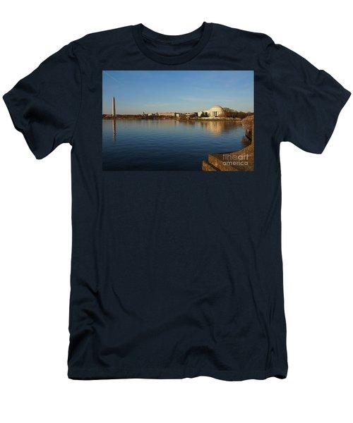 Reflections  Men's T-Shirt (Slim Fit) by Megan Cohen