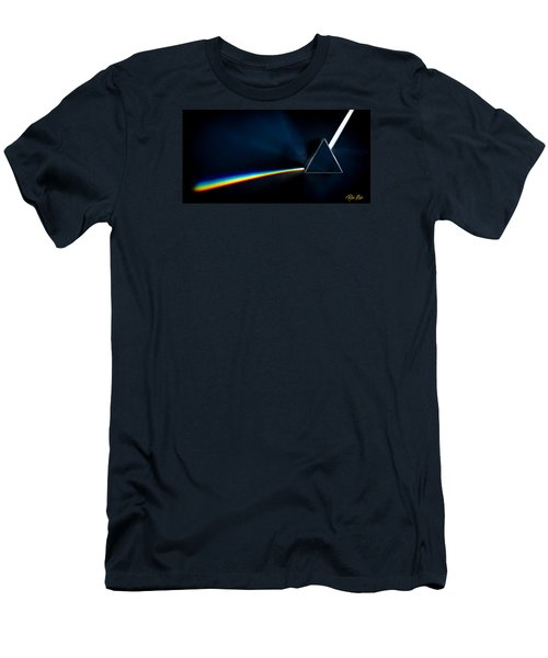 Men's T-Shirt (Athletic Fit) featuring the photograph Refraction  by Rikk Flohr