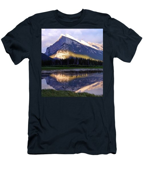 Mount Rundle Men's T-Shirt (Athletic Fit)