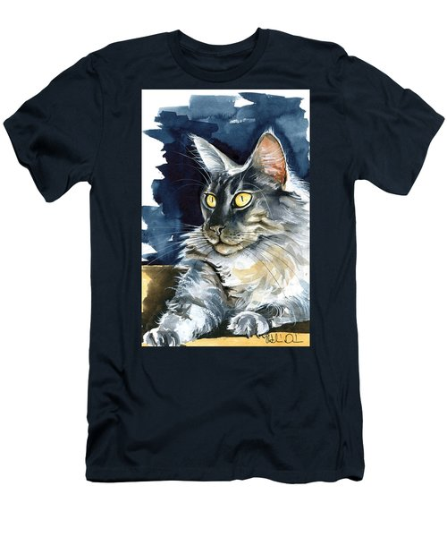 Regina - Maine Coon Painting Men's T-Shirt (Athletic Fit)