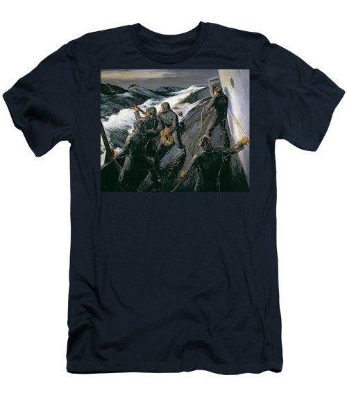 Rescue Men's T-Shirt (Athletic Fit)
