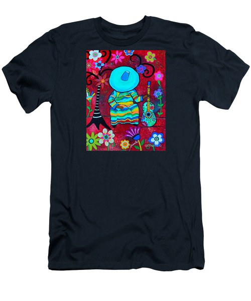 Resting Mariachi Men's T-Shirt (Athletic Fit)