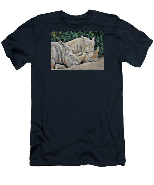 Rhinos Men's T-Shirt (Athletic Fit)