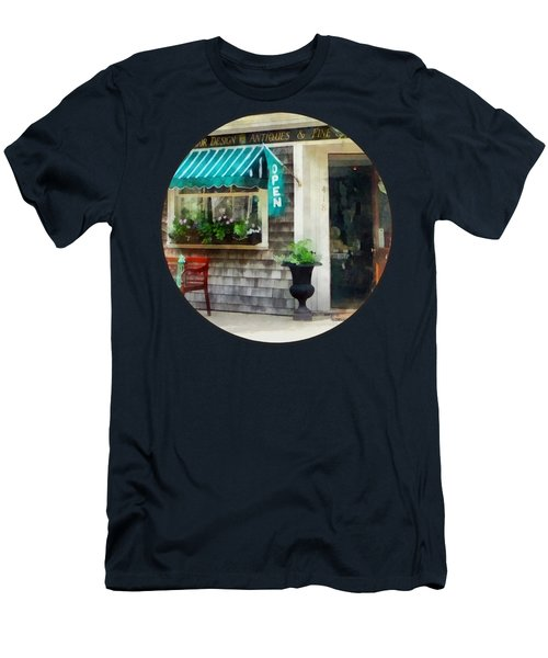 Rhode Island - Antique Shop Newport Ri Men's T-Shirt (Slim Fit)