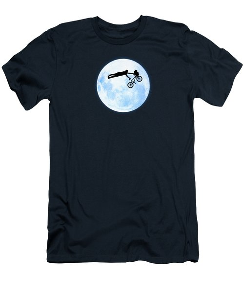 Riding The Kuwahara Bmx Like A Boss Men's T-Shirt (Athletic Fit)