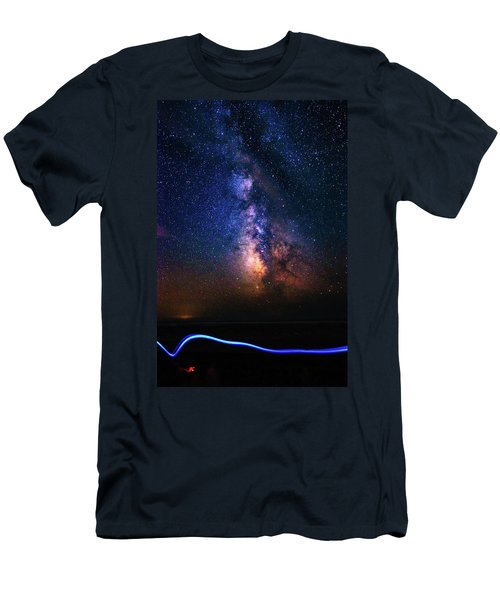 Rising From The Clouds Men's T-Shirt (Athletic Fit)