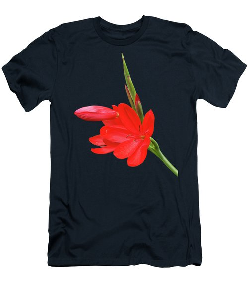Ritzy Red Men's T-Shirt (Athletic Fit)