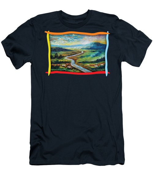 River In The Valley Men's T-Shirt (Athletic Fit)