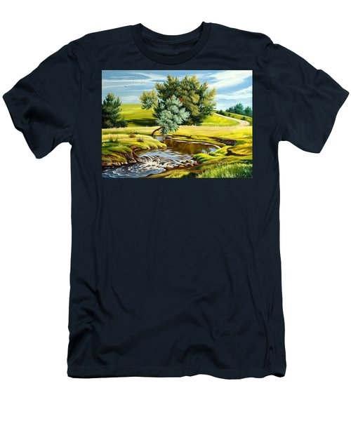 River Of Life Men's T-Shirt (Athletic Fit)