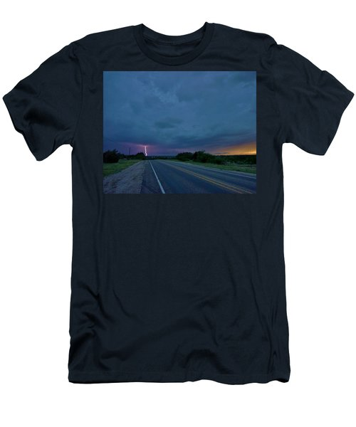 Road To The Storm Men's T-Shirt (Slim Fit) by Ed Sweeney