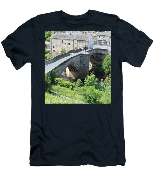 Roadbridge Over The River Tees Men's T-Shirt (Athletic Fit)