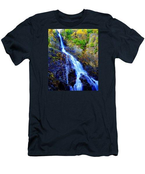 Roaring Brook Falls Men's T-Shirt (Athletic Fit)