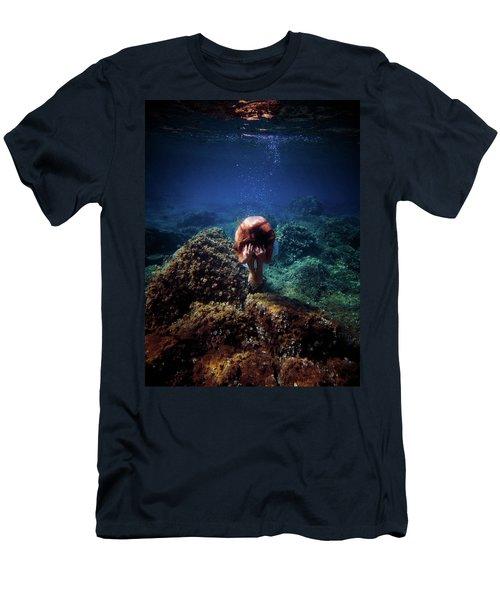 Rock Mermaid Men's T-Shirt (Athletic Fit)