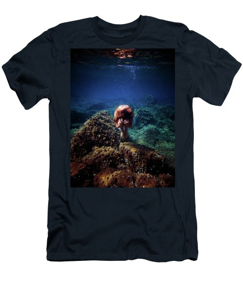 Rock Mermaid Men's T-Shirt (Athletic Fit)