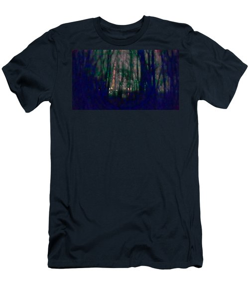 Rockets In The Night Men's T-Shirt (Athletic Fit)