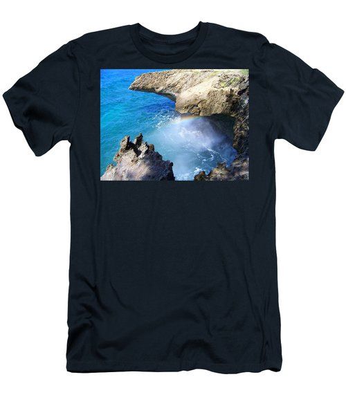 Rocks And Rainbow Men's T-Shirt (Athletic Fit)