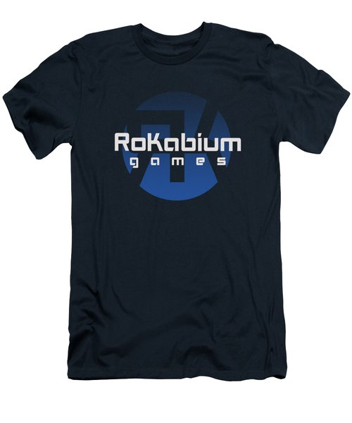 Rokabium Games Logo Men's T-Shirt (Athletic Fit)