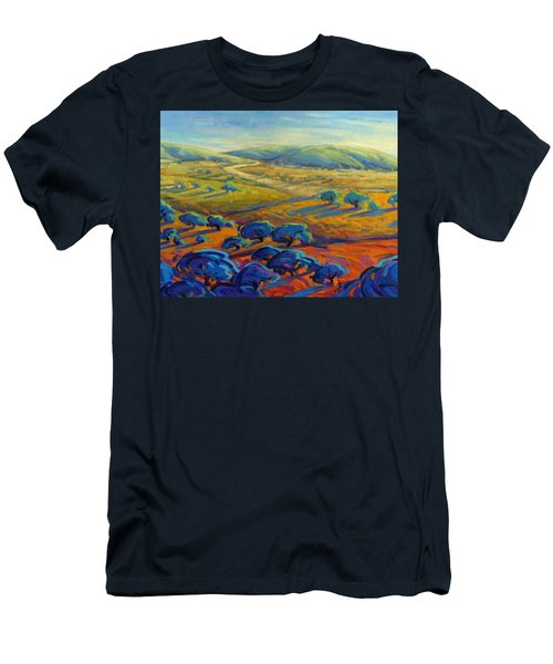 Rolling Hills 3 Men's T-Shirt (Athletic Fit)