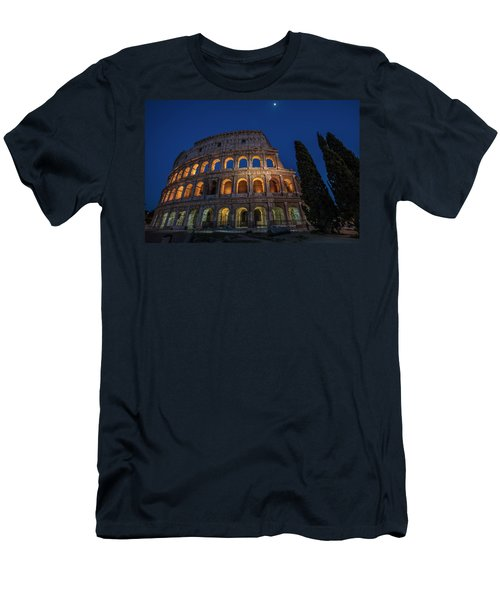 Roman Coliseum In The Evening  Men's T-Shirt (Athletic Fit)