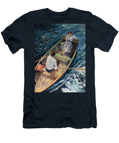 Dordogne , Beynac-et-cazenac , France ,romantic Boat Trip Men's T-Shirt (Athletic Fit)