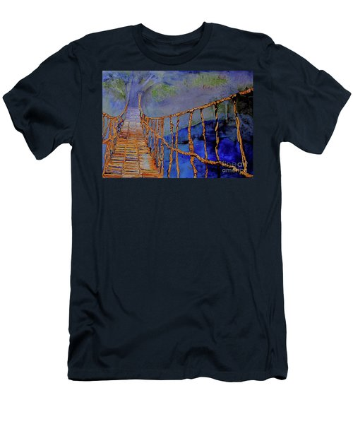 Rope Bridge Men's T-Shirt (Athletic Fit)