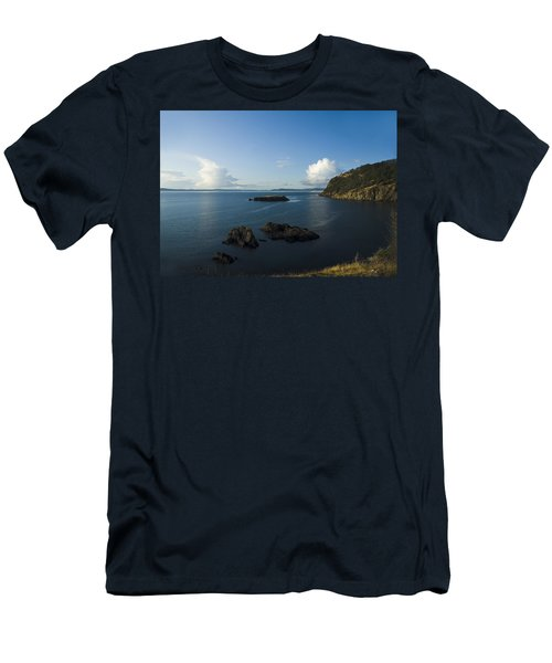 Rosario Strait Near Anacortes Men's T-Shirt (Athletic Fit)
