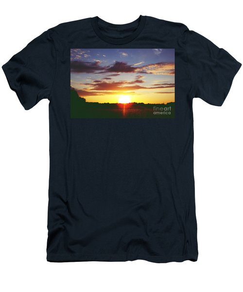 Rossington Sunset 2 Men's T-Shirt (Athletic Fit)