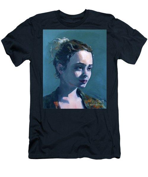 Rowan Men's T-Shirt (Slim Fit) by Diane Daigle