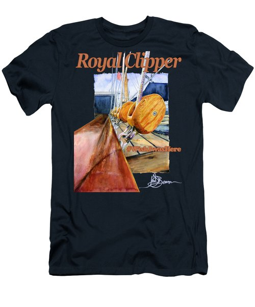 Royal Clipper Shirt Men's T-Shirt (Athletic Fit)