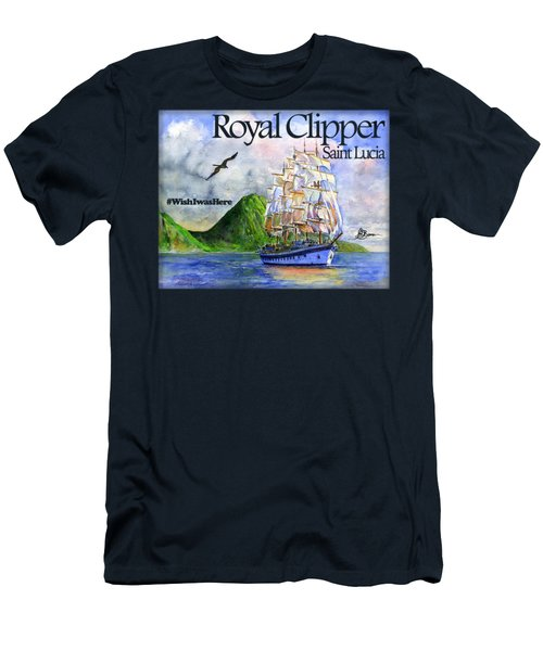Royal Clipper St Lucia Shirt Men's T-Shirt (Athletic Fit)
