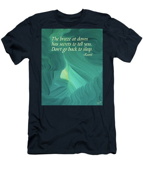 Rumi's Breeze At Dawn Men's T-Shirt (Athletic Fit)