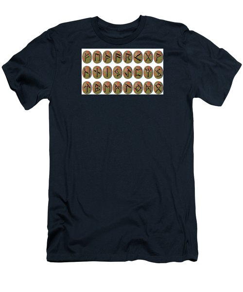 Rune Set Men's T-Shirt (Athletic Fit)