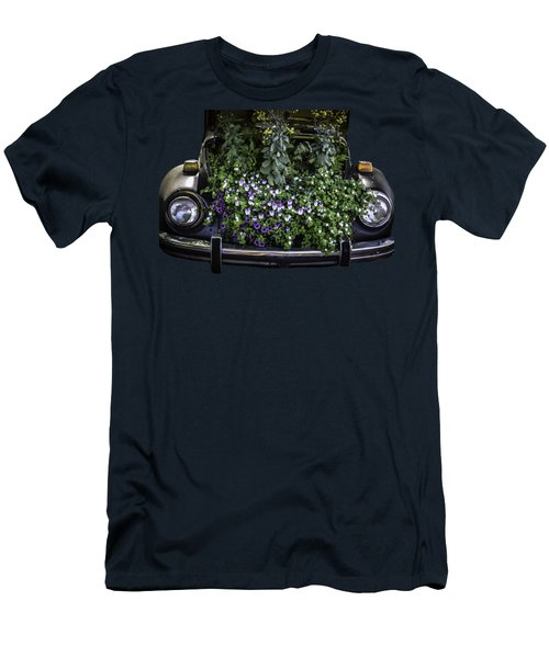 Running On Flowers Men's T-Shirt (Athletic Fit)