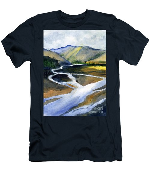 Sacramento River Delta Men's T-Shirt (Athletic Fit)