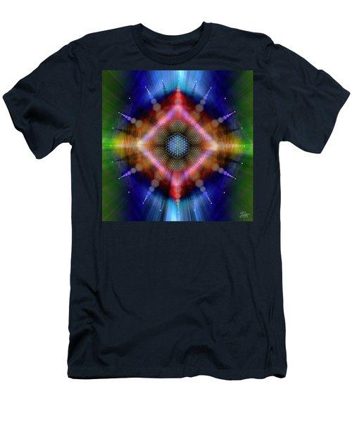Sacred Geometry 645 Men's T-Shirt (Athletic Fit)