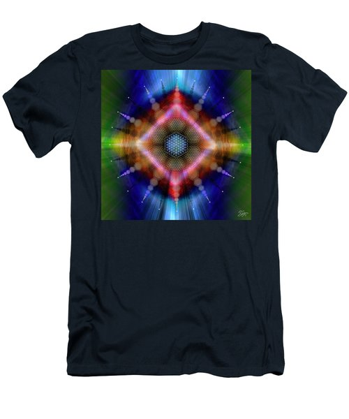 Sacred Geometry 645 Men's T-Shirt (Athletic Fit)