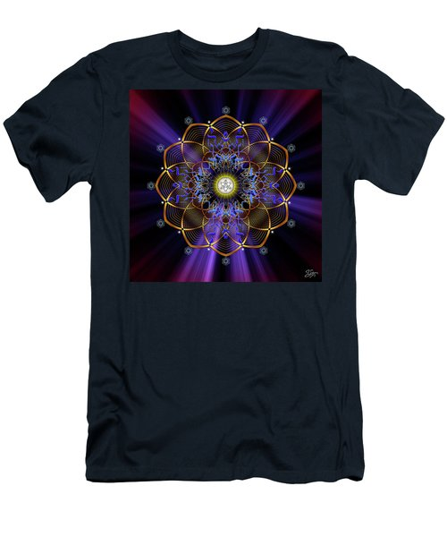 Sacred Geometry 647 Men's T-Shirt (Athletic Fit)