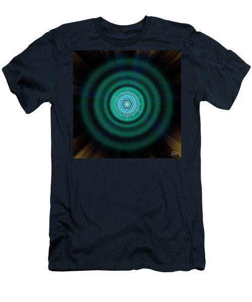 Sacred Geometry 651 Men's T-Shirt (Athletic Fit)