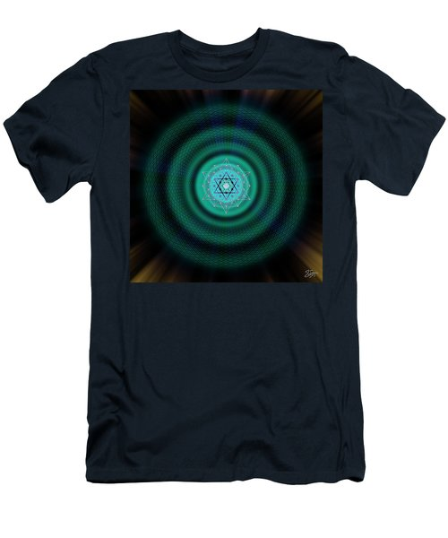 Sacred Geometry 651 Men's T-Shirt (Athletic Fit)