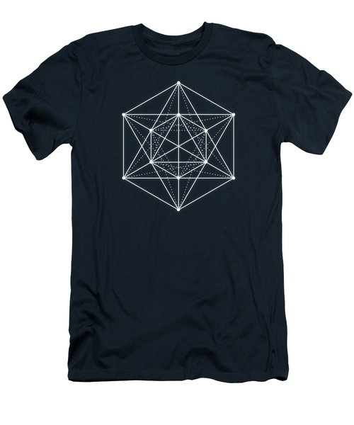Sacred Geometry  Minimal Hipster Symbol Art Men's T-Shirt (Athletic Fit)