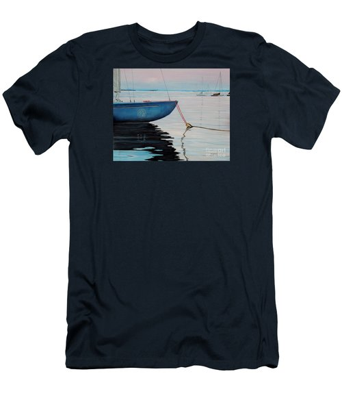 Sailboat Tied Men's T-Shirt (Athletic Fit)
