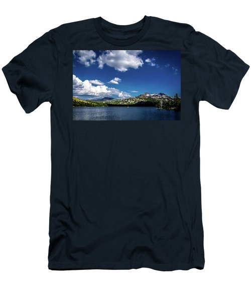 Sailing On Caples Lake Men's T-Shirt (Athletic Fit)