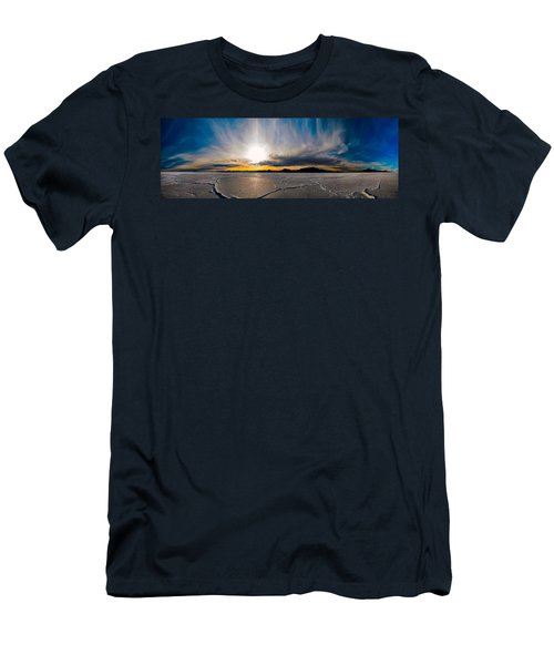 Salt Flats Sunset Men's T-Shirt (Athletic Fit)